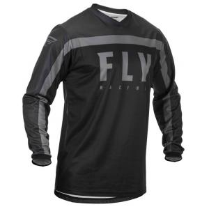 Motokrosový dres FLY Racing F-16 2020 čierno-sivý