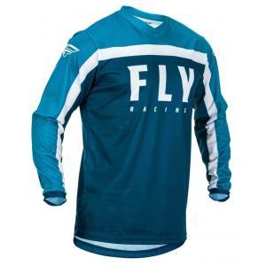 Motokrosový dres FLY Racing F-16 2020 modro-biely