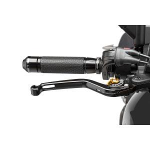 Páčka brzdy bez adaptéra PUIG 170NO dlhé čierno/zlatá