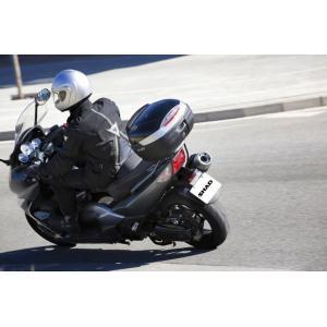 Vrchný kufor na motorku SHAD SH37 čierna