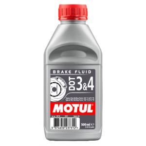 Brzdová kvapalina Motul Dot 3 and 4 0.5l