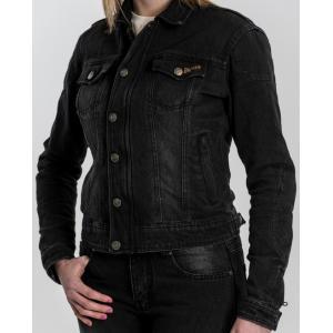 Dámska bunda na motocykel BROGER Florida čierna výpredaj