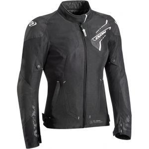 Dámska bunda na motocykel IXON Luthor čierno-biela výpredaj