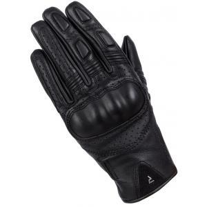 Dámske rukavice na motocykel Rebelhorn Thug II čierne perforované