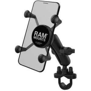 Držiak mobilného telefónu RAM Mounts X-Grip na riadidlá s priemerom 12,7-31,75 mm