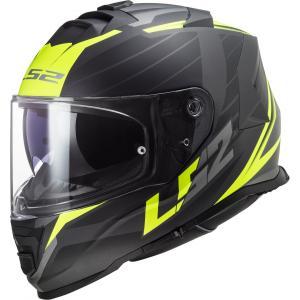 Integrálna prilba na motocykel LS2 FF800 Storm Nerve čierno-fluorescenčno žltá