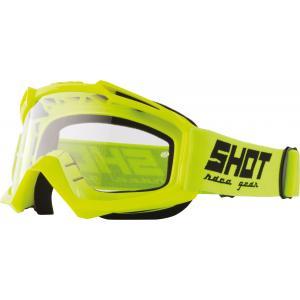 Motokrosové okuliare Shot Assault Solid fluorescenčno žlté