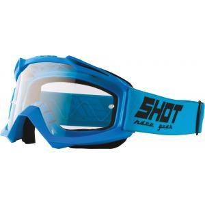 Motokrosové okuliare Shot Assault Solid modré