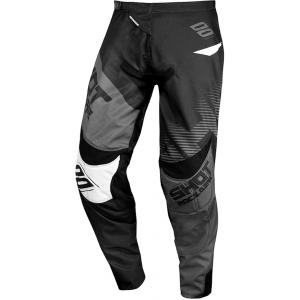 Motokrosové nohavice Shot Contact Trust čierno-šedé