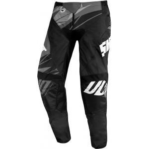 Motokrosové nohavice Shot Devo Ventury čierno-bielo-šedé