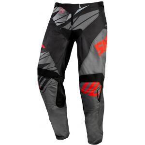 Motokrosové nohavice Shot Devo Ventury čierno-šedo-červené výpredaj