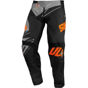 Motokrosové nohavice Shot Devo Ventury čierno-šedo-fluorescenčno oranžové výpredaj