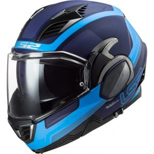 Preklápacia prilba na motocykel LS2 FF900 Valiant II Orbit modrá