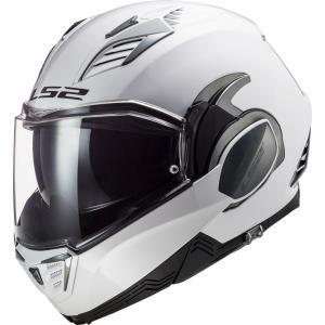 Preklápacia prilba na motocykel LS2 FF900 Valiant II Solid biela