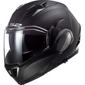 Preklápacia prilba na motocykel LS2 FF900 Valiant II Solid čierna matná
