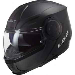 Odklápacia prilba na motocykel LS2 FF902 Scope Solid čierna matná