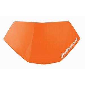 Odnímateľná poznávacia značka svetlometu POLISPORT HALO LED oranžová KTM