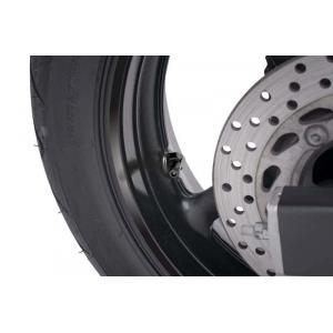 Ventil pre bezdušové kolesá PUIG 8100N čierna D 8,3mm