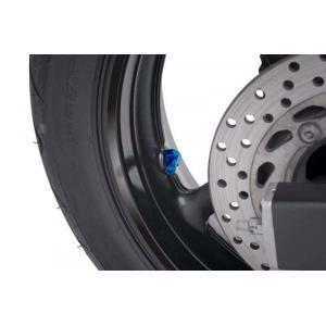 Ventil pre bezdušové kolesá PUIG 8100A modrá D 8,3mm