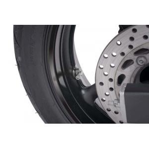 Ventil pre bezdušové kolesá PUIG 8100P strieborná D 8,3mm