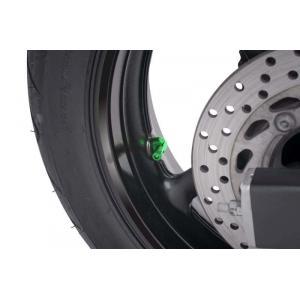 Ventil pre bezdušové kolesá PUIG 5591V zelená D 11mm
