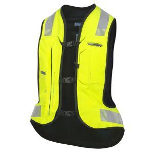 Elektronická airbagová vesta HELITE e-Turtle fluorescenčno žltá