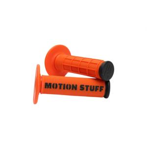 Motokrosové rukoväte MOTION STUFF Oranžovo/čierne
