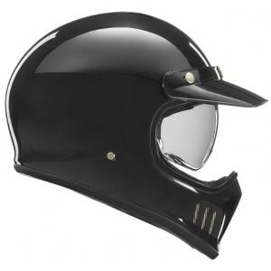 Prilba na motocykel NOX PREMIUM Seventy čierna lesklá