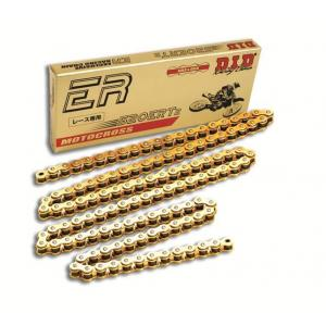 Motokrosová reťaz - Made in JAPAN D.I.D Chain 520ERT2 116 L zlatá/zlatá