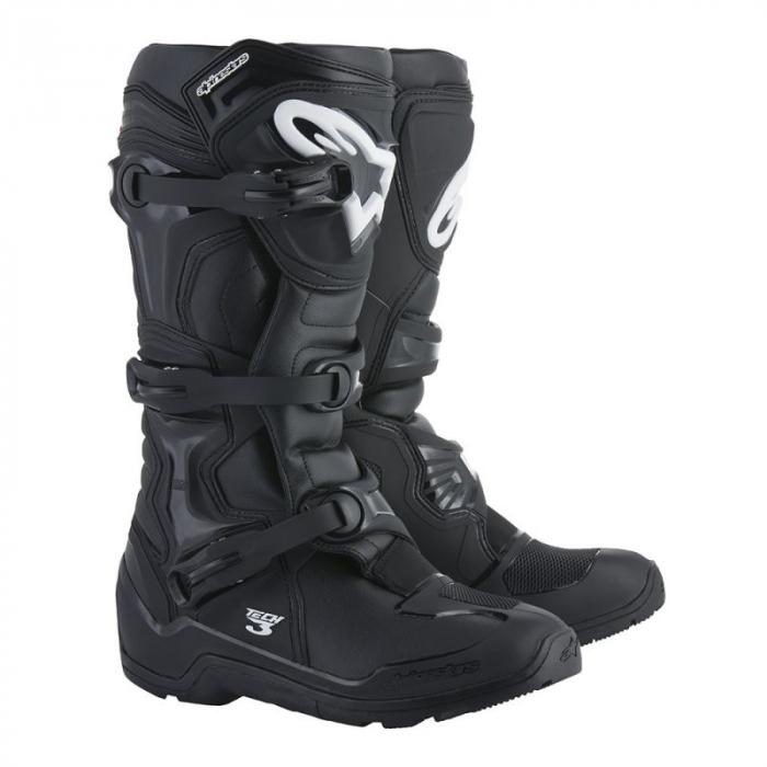Vysoké čižmy na motocykel Alpinestars Tech 3 čierne