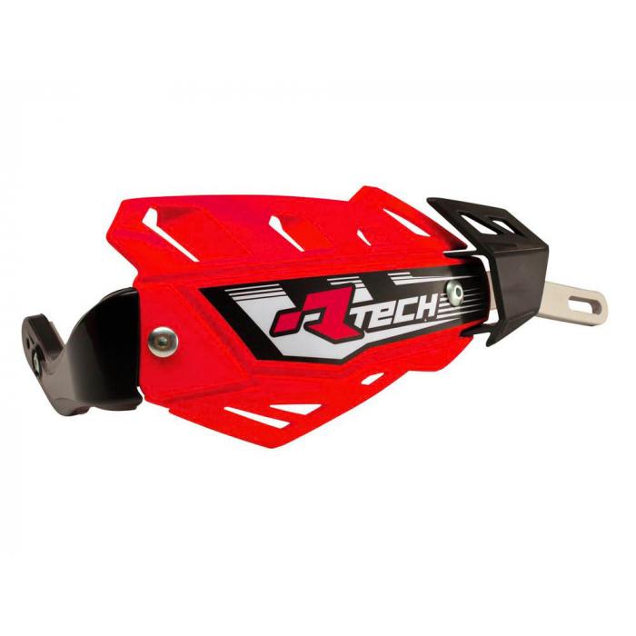 Chrániče rúk RTECH FLX ATV/QUAD červené