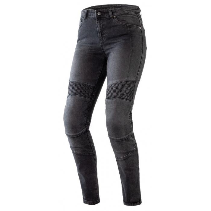 Dámske jeansy na motocykel Ozone Agness II čierne