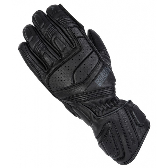 Dámske rukavice na motocykel Rebelhorn Hike II čierne
