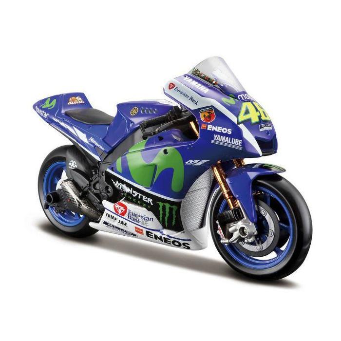 Model motocykla Maisto VR46 Valentino Rossi YAMAHA MotoGP 2016
