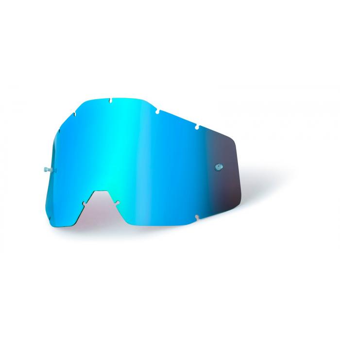 Modré chrómové plexisklo pre detské okuliare 100 % Accuri/Strata