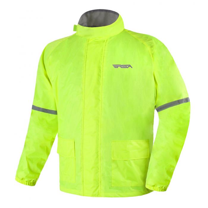 Moto bunda do dažďa RSA Insta fluo žltá výpredaj