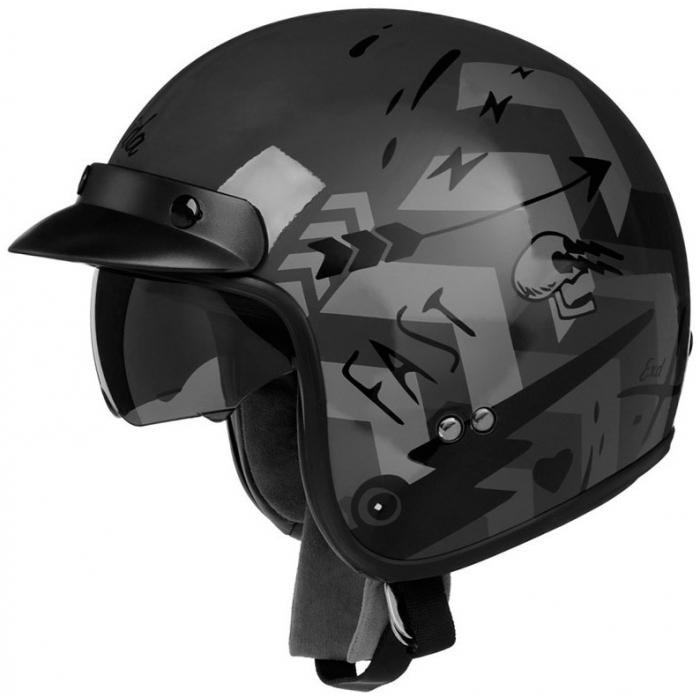 Otvorená prilba na motocykel Cassida Oxygen Badass