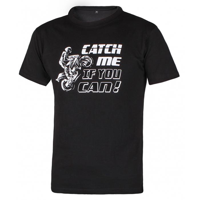 Pánske tričko Catch me if you can