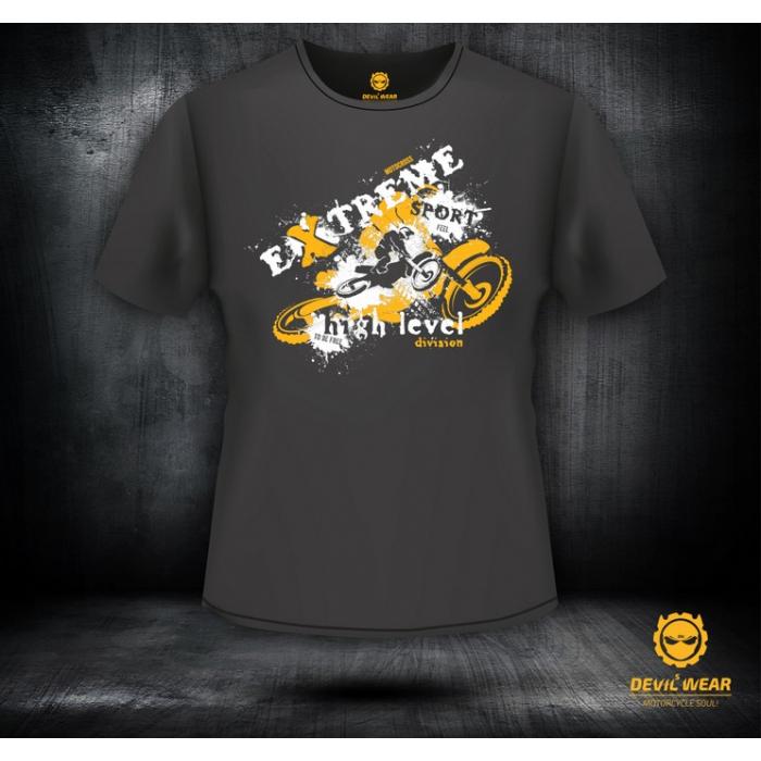 Pánske tričko Devils Wear - Extreme Sport Motocross Man - II. akosť