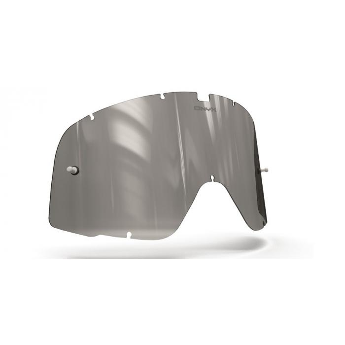 Plexisklo Onyx pre motokrosové okuliare 100 % Barstow (šedé s polarizáciou)
