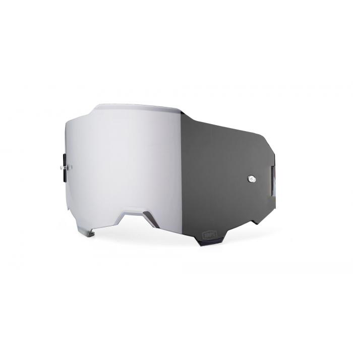 Strieborno-irídiové sklo do okuliarov 100 % ARMEGA