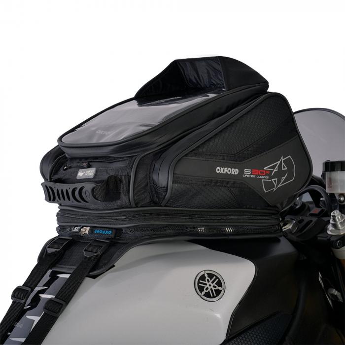 Tankbag na motocykel Oxford S30R čierny