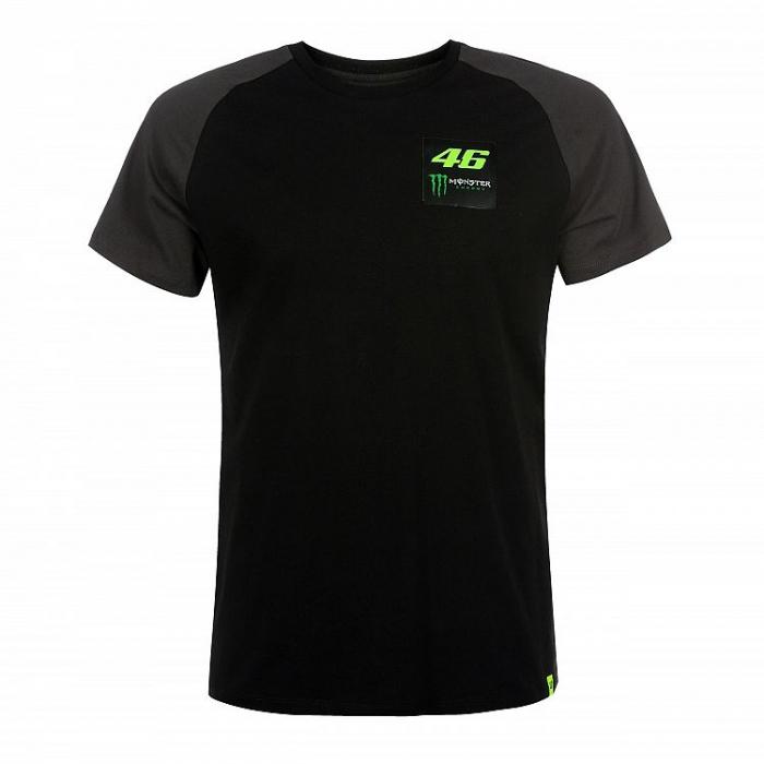 Tričko VR46 Valentino Rossi 46 MONSTER čierne