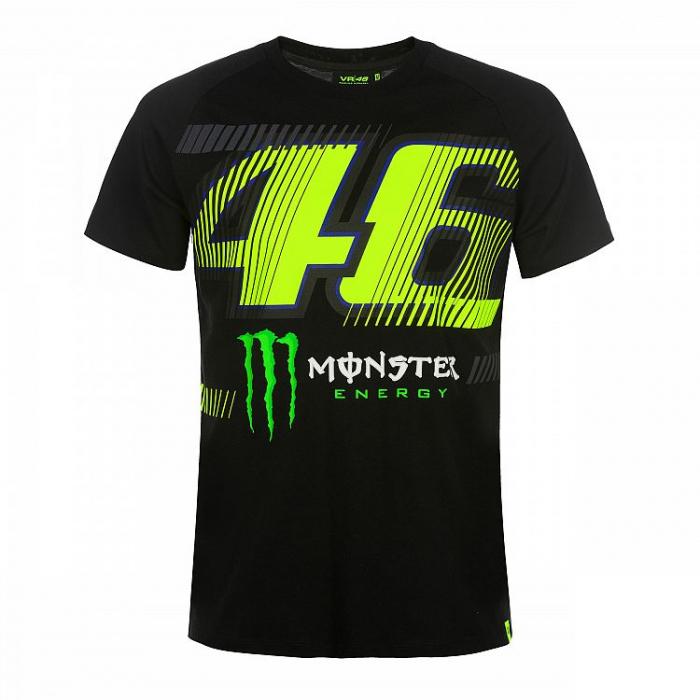 Tričko VR46 Valentino Rossi MONZA 46 MONSTER čierne