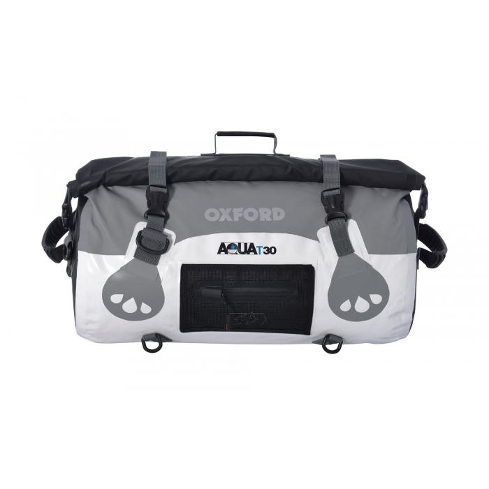 Vak Oxford Aqua30 Roll Bag bielo-šedý odolný proti vode