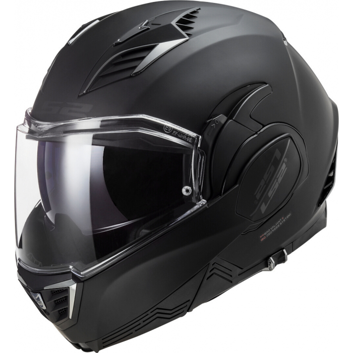 Preklápacia prilba na motocykel LS2 FF900 Valiant II Noir čierna matná
